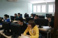 Učenici Gimnazije na obuci